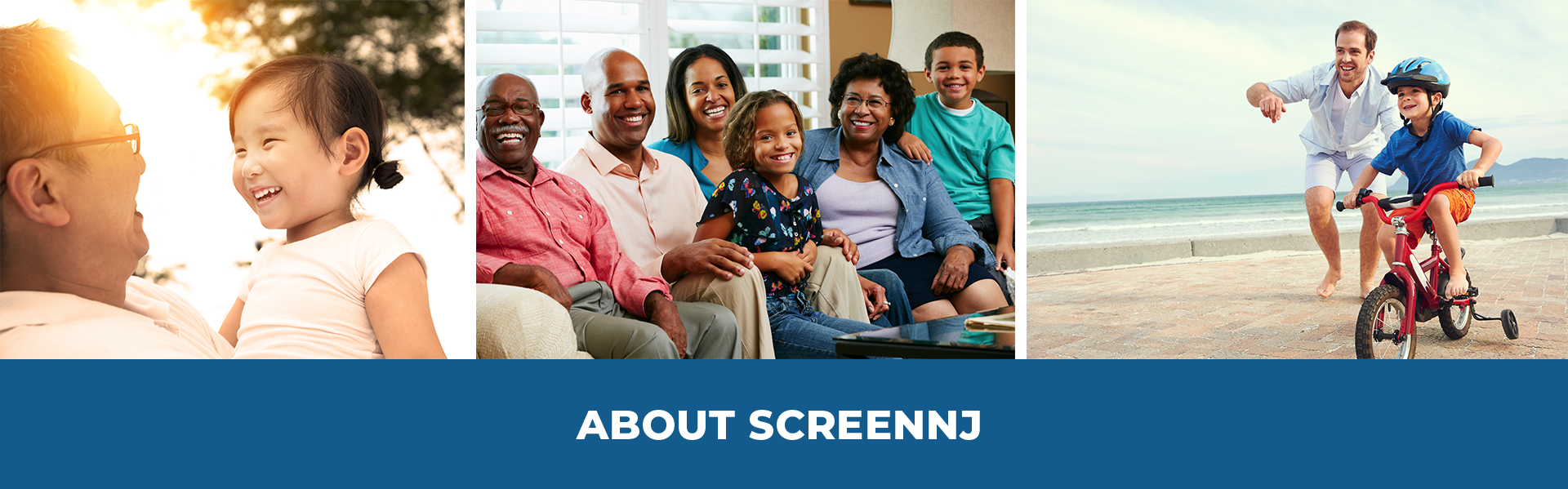 About ScreenNJ header graphic.