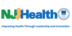 New Jersey Department of health text logo