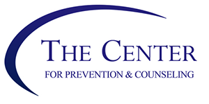 The Center for Prevention and Counseling text logo