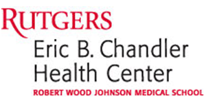 Rutgers Eric B Chandler Health Center text logo