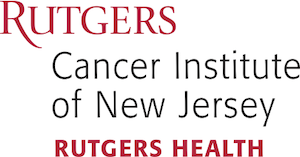 Rutgers Cancer Institute of New Jersey text logo